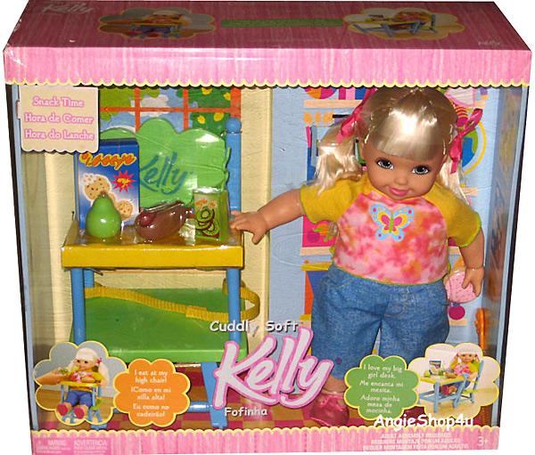 большая кукла Келли Cuddly