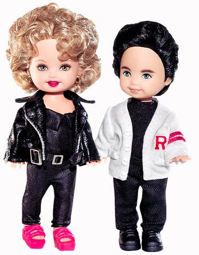 Tommy & Kelly Grease set куклы фильм Бриолин