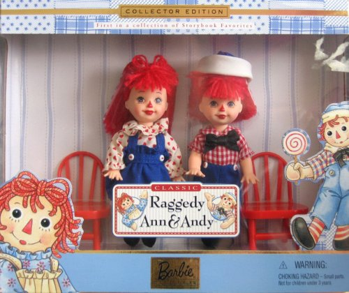 набор куклы Келли и Томми Tommy Kelly Raggedy Ann Andy