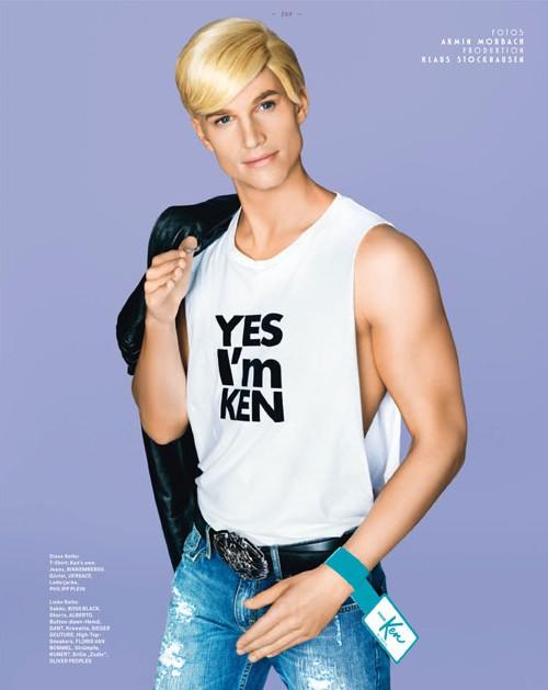 Юбилейная фотосессия Кена для журнала GQ