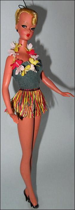 Кукла Лилли предшественница Барби
