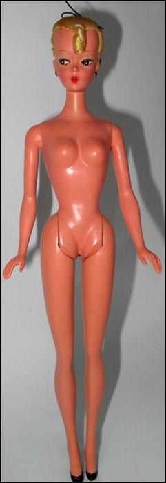 Немецкая кукла Лилли предшественница Барби