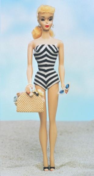 Кукла Барби 1960 годов - одна из первых