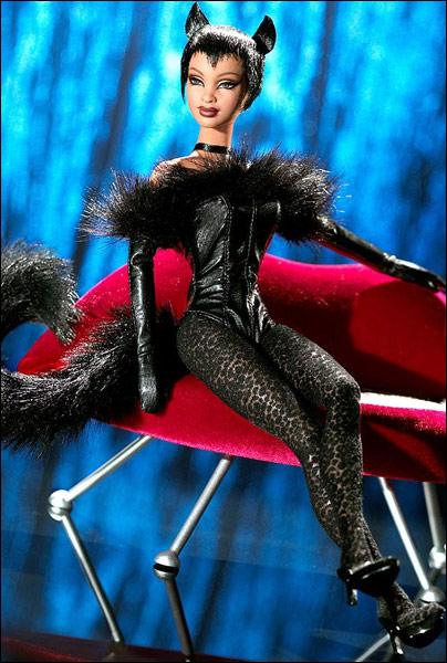 Коллекционная кукла Барби Lounge Kitties Panther