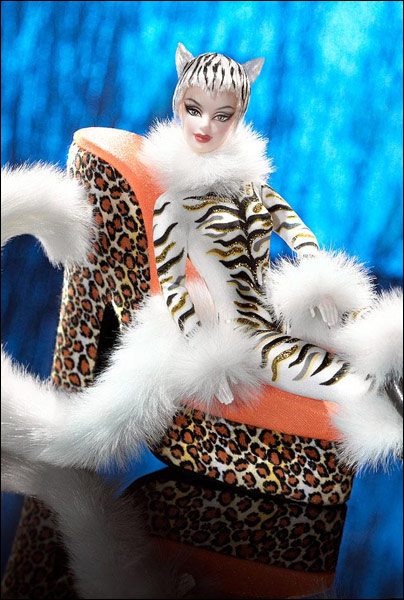 Коллекционная кукла Барби Lounge Kitties Tiger