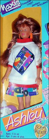 кукла 80-х от Hasbro Maxie подруга