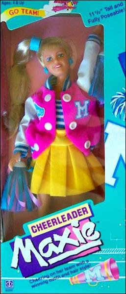кукла Maxie чирлидер куклы 80-х