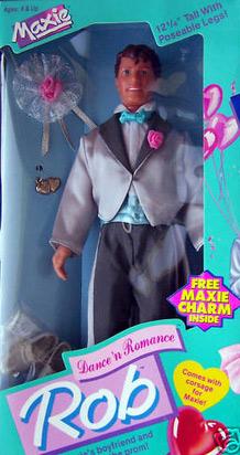 кукла 80-х Rob парень Maxie