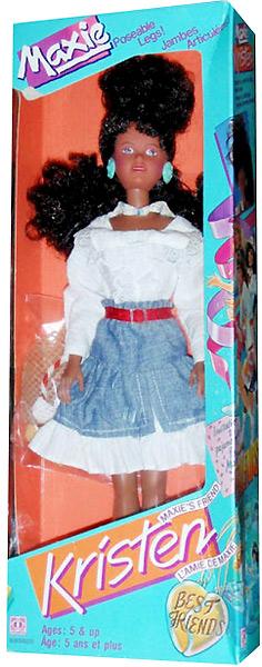 темнокожая кукла подруга Maxie куклы 80-х