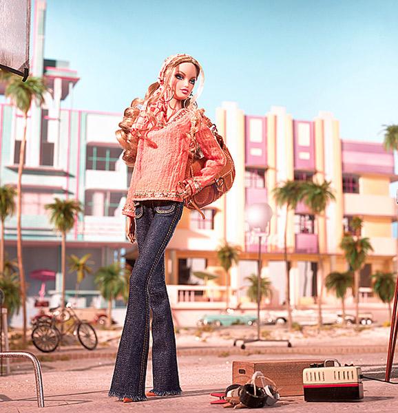коллекционная кукла Барби Best Models on Location South Beach