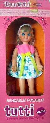 Mattel кукла Тутти Tutti
