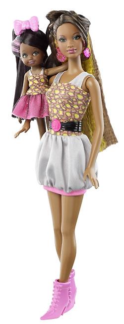Темнокожая кукла аналог Барби So In Style Locks of Looks Grace Courtney