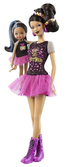 Темнокожая кукла аналог Барби So In Style Locks of Looks Trichelle Janessa