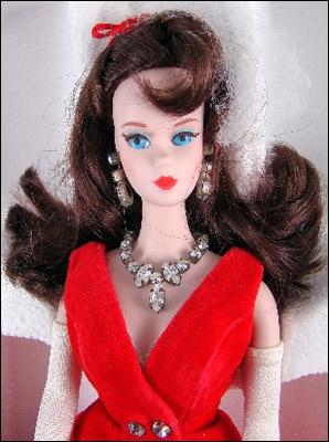 Фарфоровая кукла Барби 1988