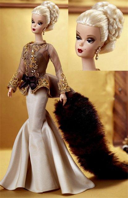 коллекционная кукла Барби Silkstone Barbie