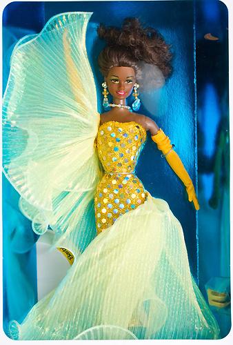 фото Барби коллекционная кукла черная