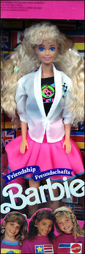 кукла Friendship Barbie 1991