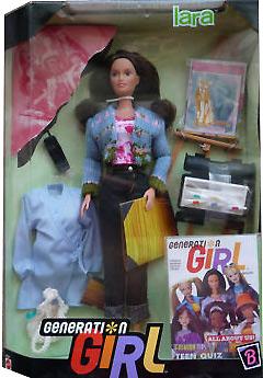 Первая кукла Generation Girl Lara