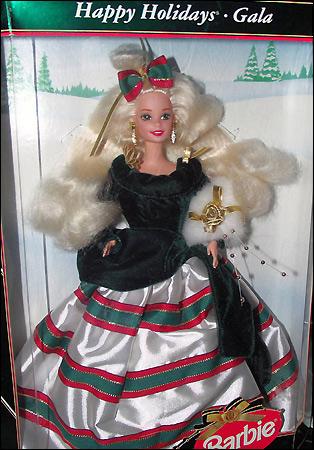 коллекционная кукла Барби Happy Holidays Barbie 1995