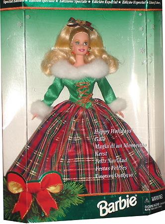 коллекционная кукла Барби Happy Holidays Barbie