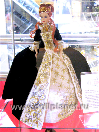 Барби Фаберже Faberge Barbie Imperial Grace