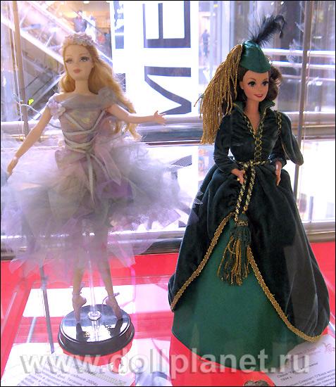 выставка кукол Барби в Атмосфере Петербург