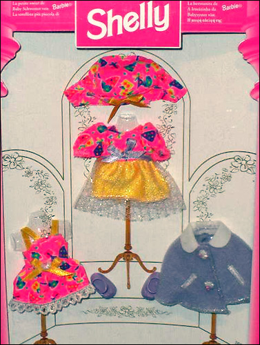 одежда для куклы Шелли