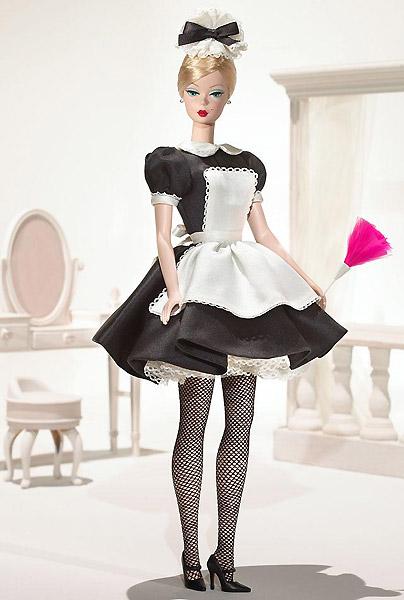коллекционная кукла Барби Silkstone Barbie горничная