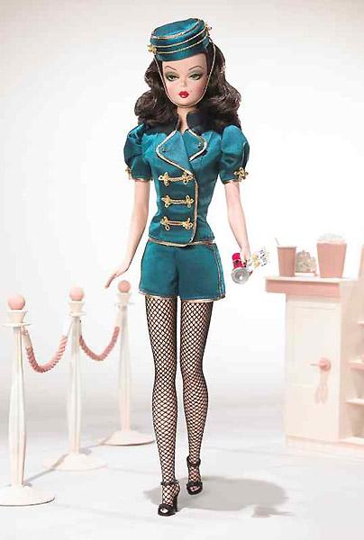 коллекционная кукла Барби Silkstone Barbie швейцар