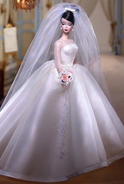 коллекционная кукла Барби Silkstone Barbie невеста