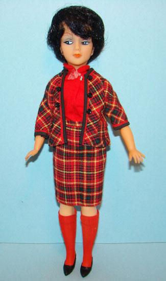 Одежда винтажной куклы Тины Кассини