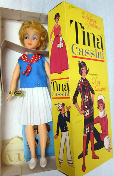 винтажная кукла Олега Кассини Тина Кассини