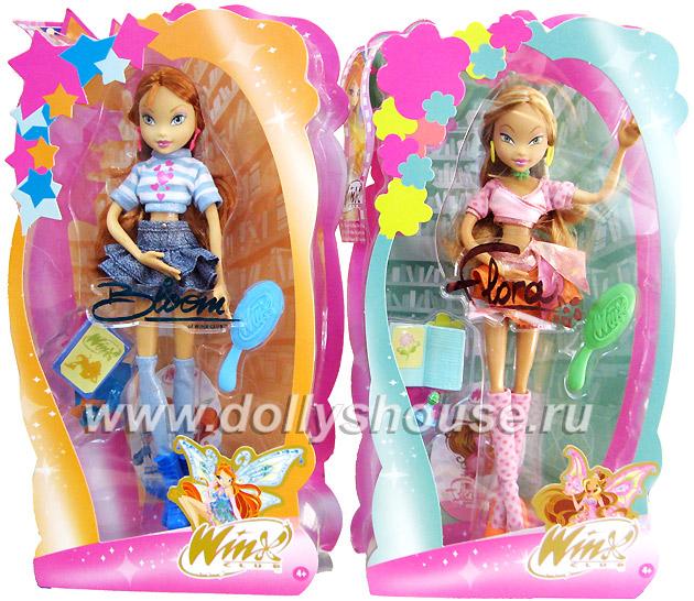 Куклы Winx - Блум и Флора.