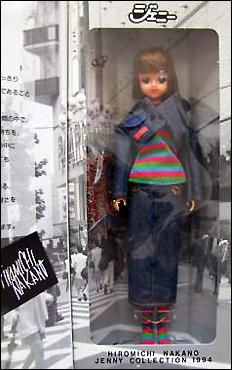 японская кукла Jenny одежда Hiromichi Nakano