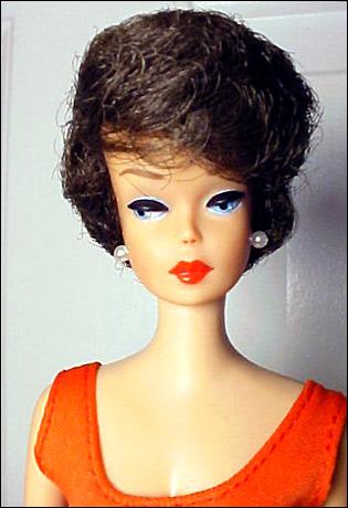 Фото куклы Барби старой 1963 год