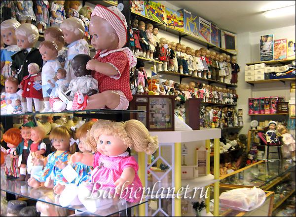 кукольный магазин во Франкфурте Puppen Klinik