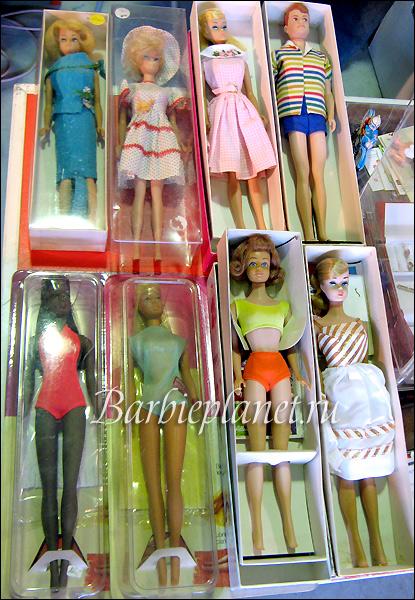 винтажные куклы Барби в Германии