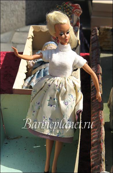 Кукла Bild Lilli на блошином рынке в Германии