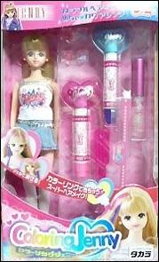 японская кукла Jenny можно красить волосы