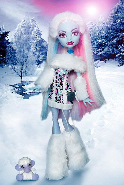 Кукла Monster High йети Abbey Bominable