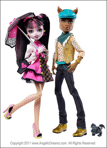 Кукла Clawd Wolff Monster High