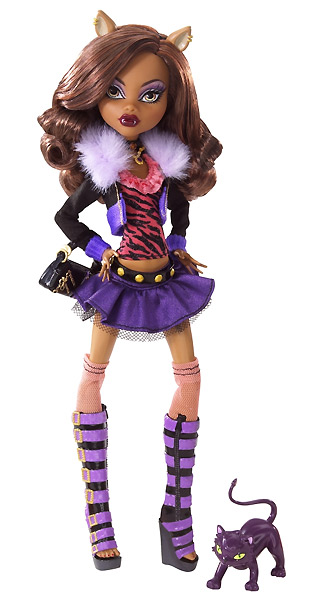 Шарнирная кукла Monster High Clawdeen Wolff