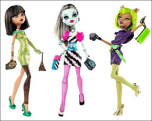 Куклы Monster High Dawn of the Dance