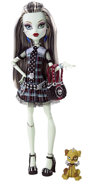 Шарнирная кукла Monster High Frankie Stein
