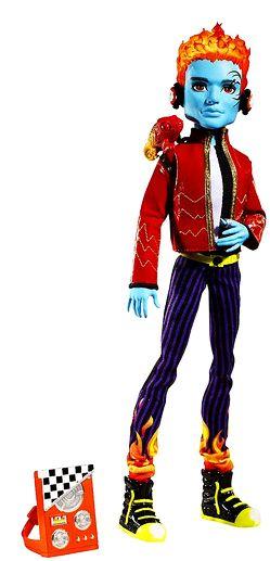 Шарнирная кукла Monster High Holt Hyde