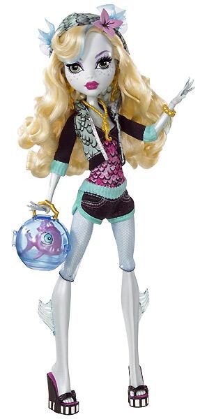 Шарнирная кукла Monster High Lagoona Blue