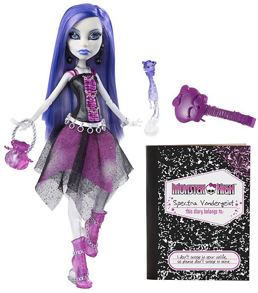 Кукла призрак Monster High Spectra Vondergeist