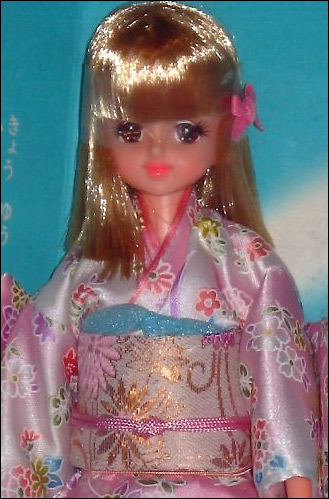 Японская кукла Барби в кимоно Takara