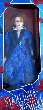 Йошики рок-музыкант Yoshiki X-Japan фото кукла