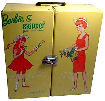 Barbie Skipper фото чемоданчик винтажный